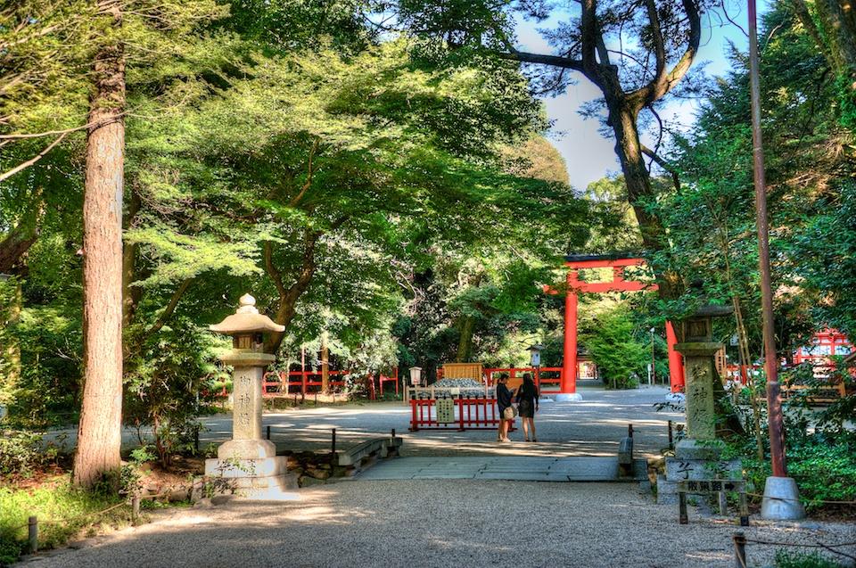 Shimogamo Shrine, Kyoto