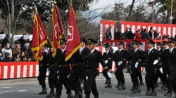Kyoto City Fire Department Parade
